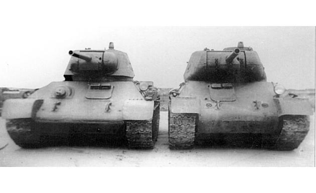 Танки Т-34 и Т-43