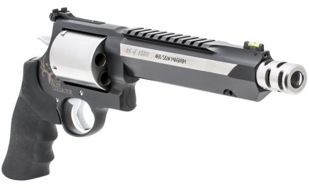 Smith & Wesson 460XVR Bone Collector Revolver