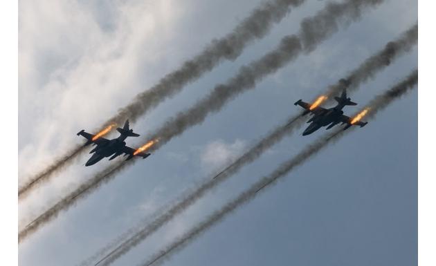 Су-25. Залп!