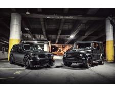 Lumma CLR R Range Rover & Brabus G Wagon