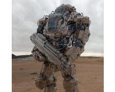 Бойцы будущего. Роботы.