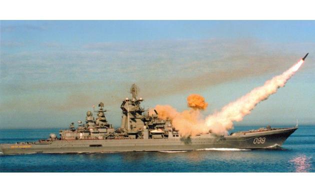 Тяжелый атомный ракетный крейсер Петр Великий 2