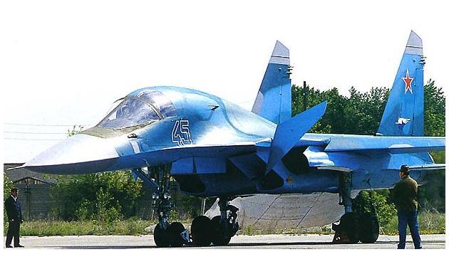 Су-34 Flanker-E