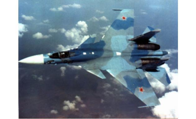 Су-33 Flanker-D 2