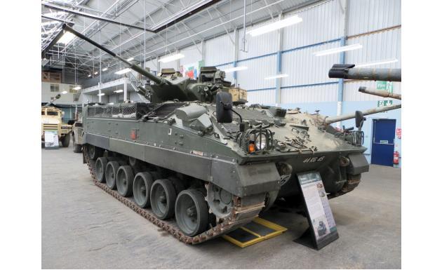 Современная БМП FV510 Warrior