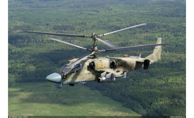 Ка-52 Hokum B Аллигатор