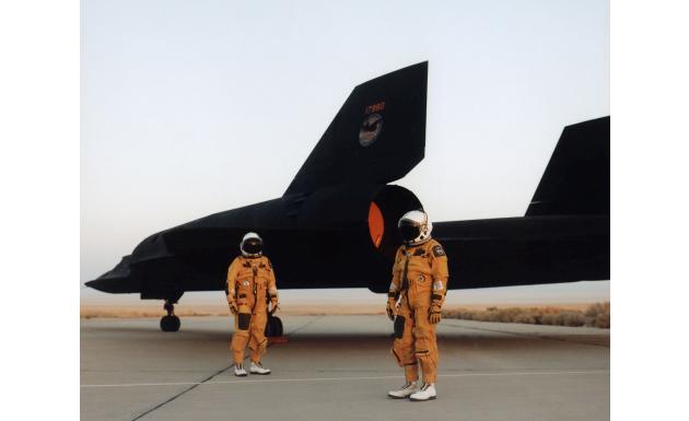 Пилоты Lockheed SR-71