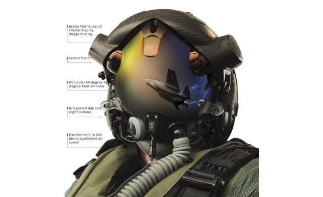 Шлем пилота F-35 Helmet Mounted Display System