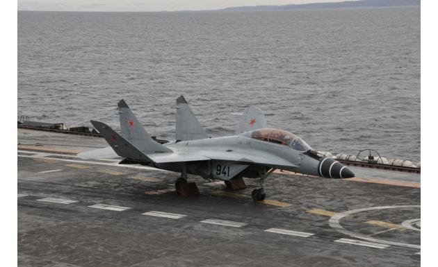 МиГ-29К - палубный истребитель