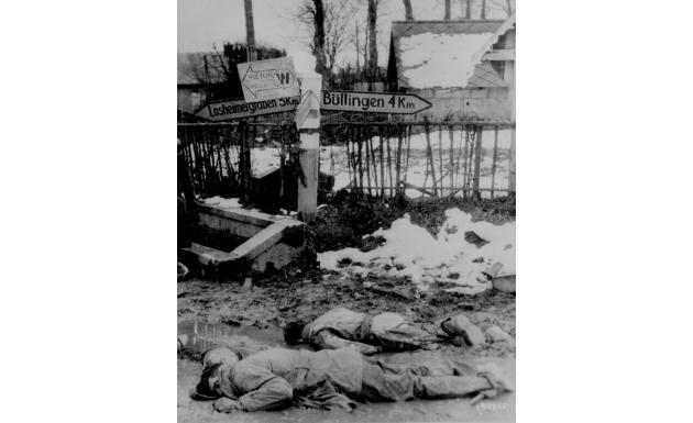 Западный фронт Бельгия Декабрь 1944