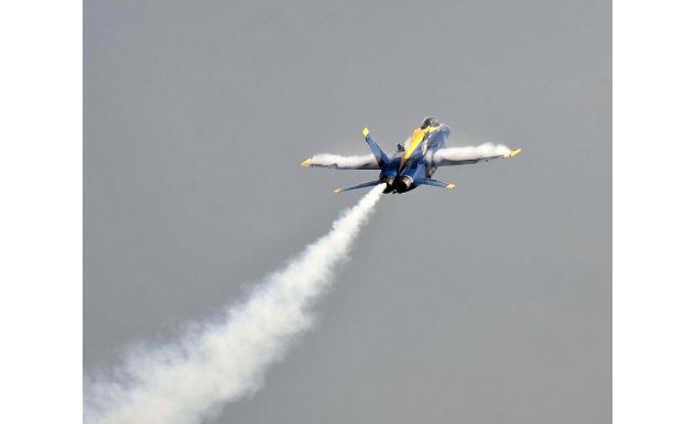Пилотажная группа Blue Angels - ВВС США 2
