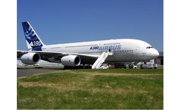 Airbus A380 - Ле Бурже 2005