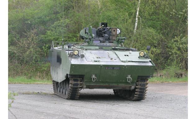 Боевая машина пехоты AMX-10P