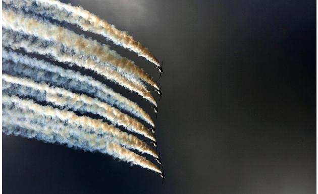 Пилотажная группа Испанских ВВС Patrulla Aguila