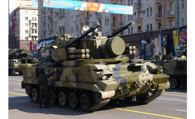Зенитный пушечно-ракетный комплекс Тунгуска–М1