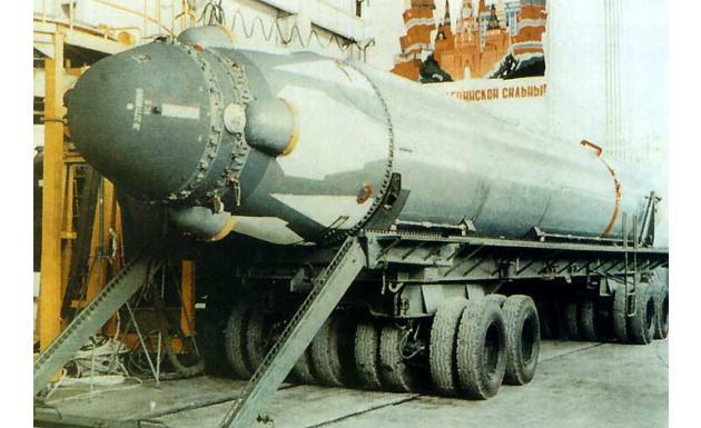 Баллистическая ракета подводных лодок Р-29РМ Skiff