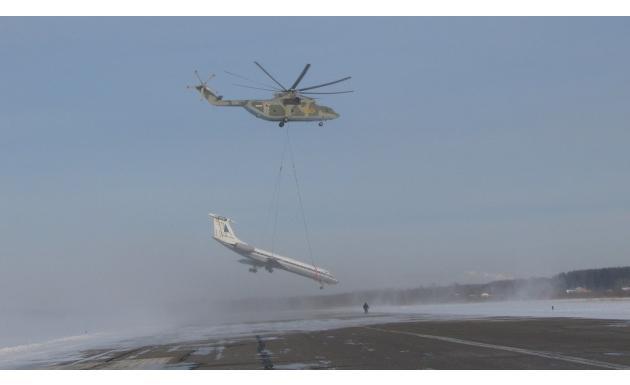 Тяжелый транспортно-десантный вертолет Ми-26