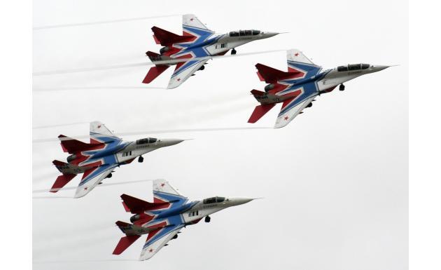 АПГ Стрижи на МиГ-29