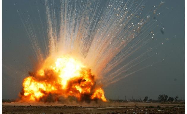 Обои - взрыв
