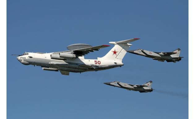 А-50 и пара МИГ-31
