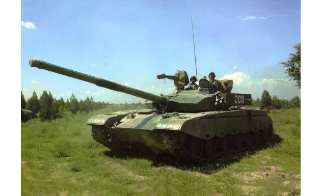 Танк Тип 99. Китай.