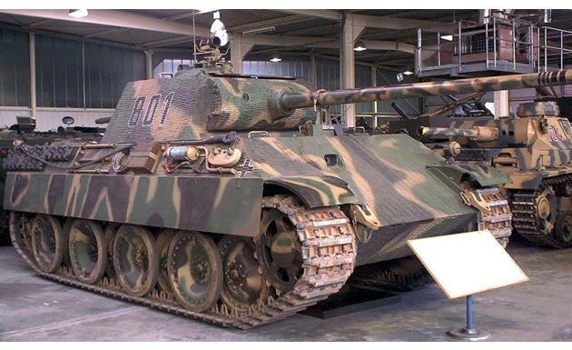 Танк Panzer V Ausf.G 1 sk
