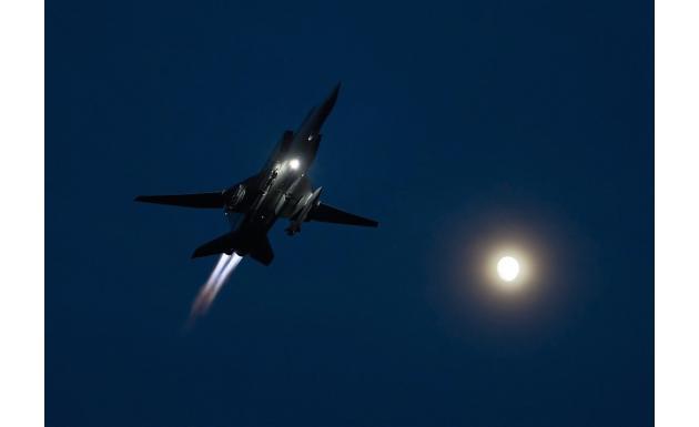 Ту-22М3. Ночные полеты.