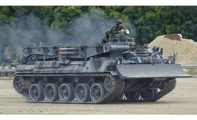 AMX-30D (Depanneur-Niveleur). 1973.