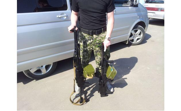 Пулеметы Печенег и Печенег системы булпаб