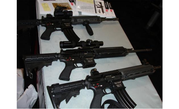 Штурмовые винтовки Heckler und Koch