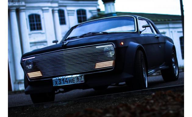 Волга 3.5 BMW 7